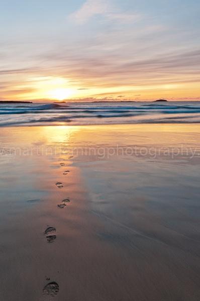 Footprints by irishman