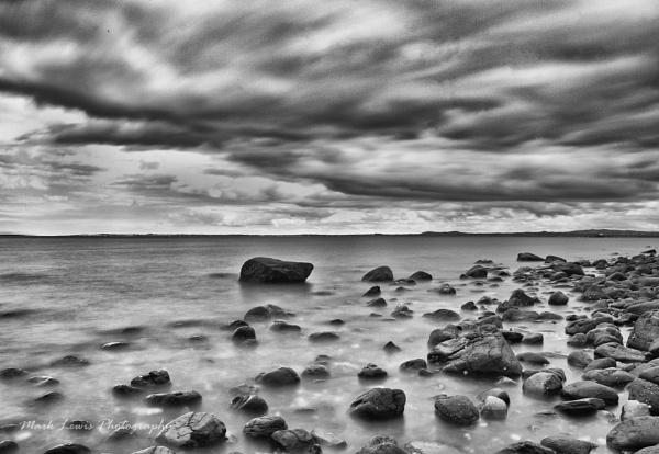 whitehead coastline b&w by marklewis81