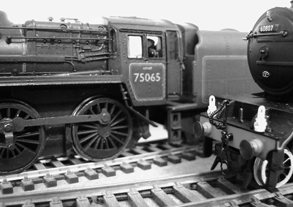 A Macro of trains. by Adrianwalker