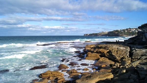 Bondi Beach; Sydney Australia by slatiola