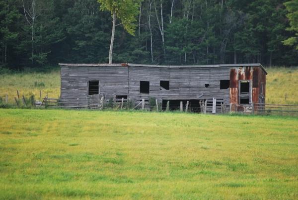 Old Barn by Mychael