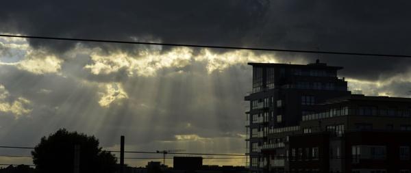 the pouring sun by cymroDan