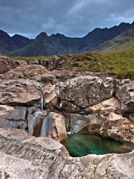 The Fairy Pools,  Glenbrittle Skye. by bill33