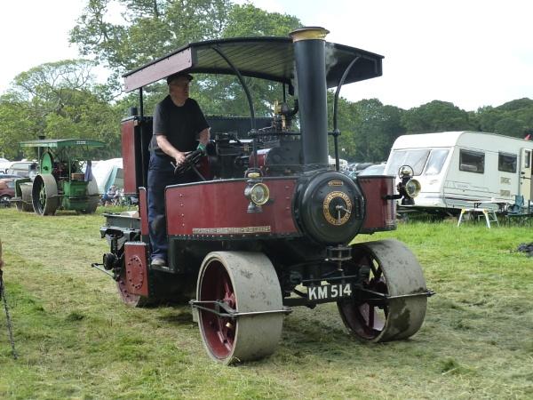 Unusual Steam Roller by JuBarney