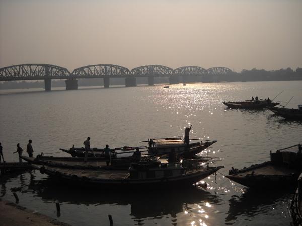 A Ferry Ghat.... by BHUBAN