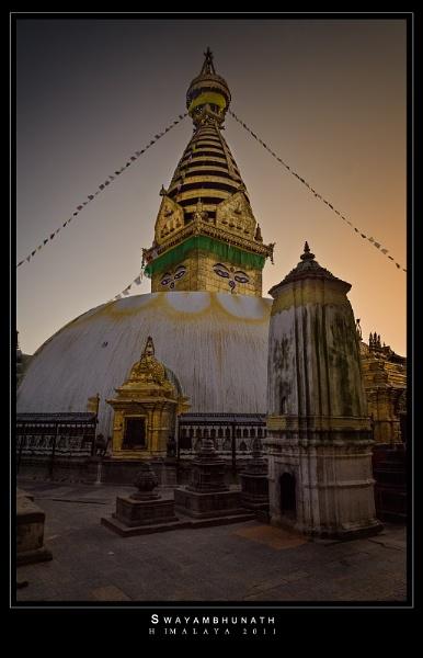 Swayambhunath-Nepal by ovi