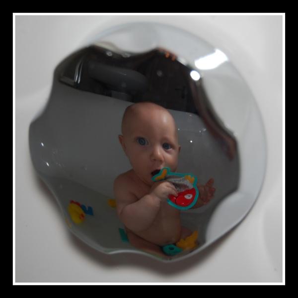 Reflection of a fathers eye by m60mrj