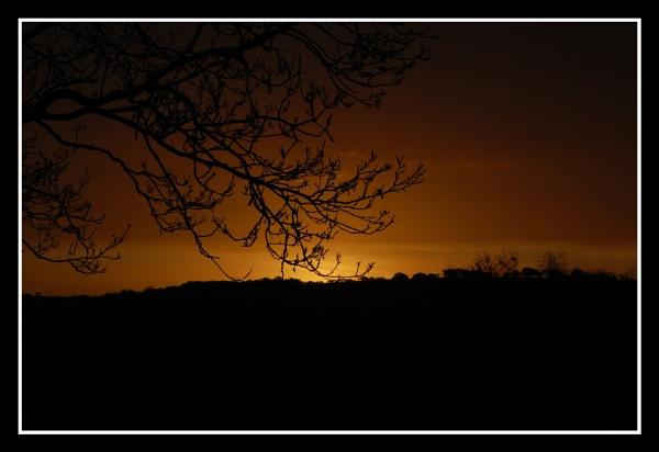 sunrise over Glyn Neath Bank by m60mrj