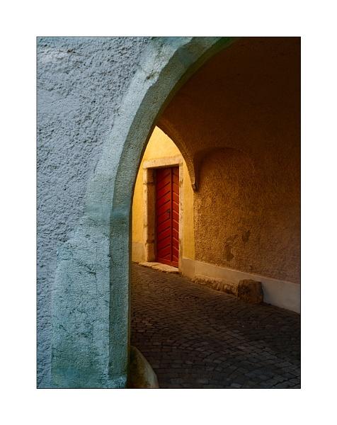 Archway, St. Ursanne by joolsb