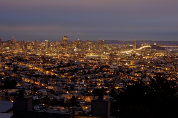San Francisco @ dawn by paulvo