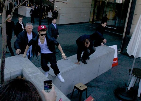 Justin Bieber in Sydney by StephenBrighton
