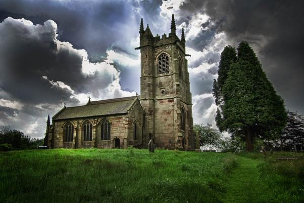 Ightfield church by JWA