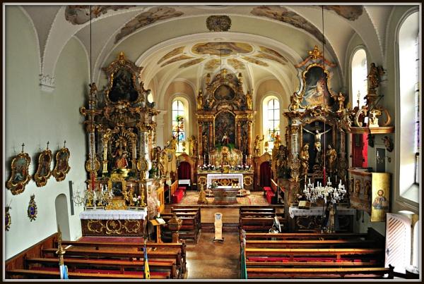 St. Oswalds Church, Alpbach, Austria. by delboy85