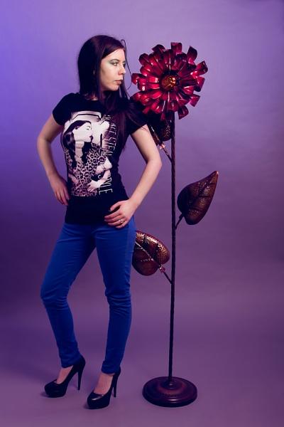Gemma as a Flower by JackAllTog