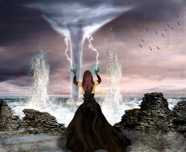 Kelaeno Goddess of Storms by vonbatcat
