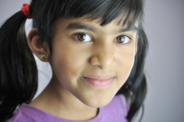 Headshot - child #2 by Bluebiriyani