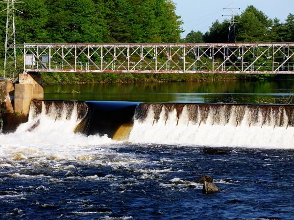Saco River @ Bar Mills Maine by rjheat