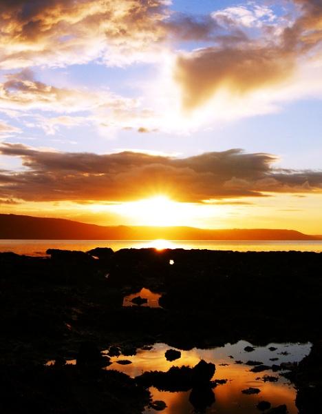 Rockpool Sunrise (cropped version) by PaulRichardson