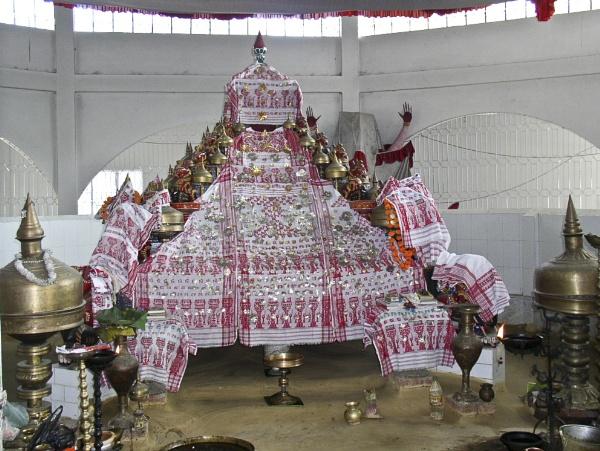 Assamese Altar (Thapana) by rlsarma