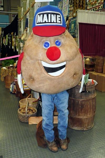 Mr. Maine Potato by Joline