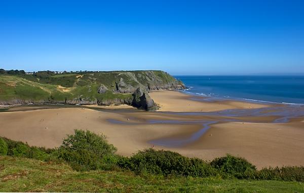Three cliffs Bay by skye1