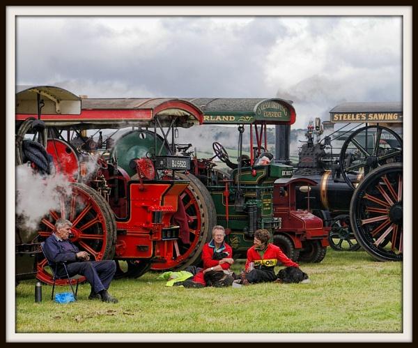 Steam gathering by jimmy-walton