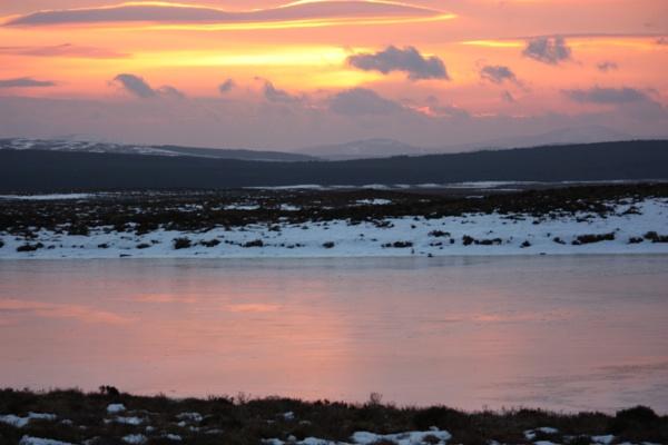 Winter sunrise. by emacklyn