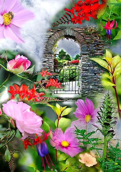 Garden Gateway by ElaineGregg