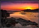 Bracelet Bay at Sunset