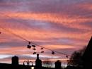 Shoe sunset