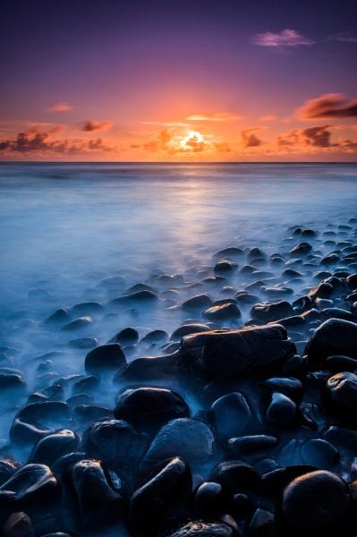 Embleton Bay sunrise. by JonathanCombe