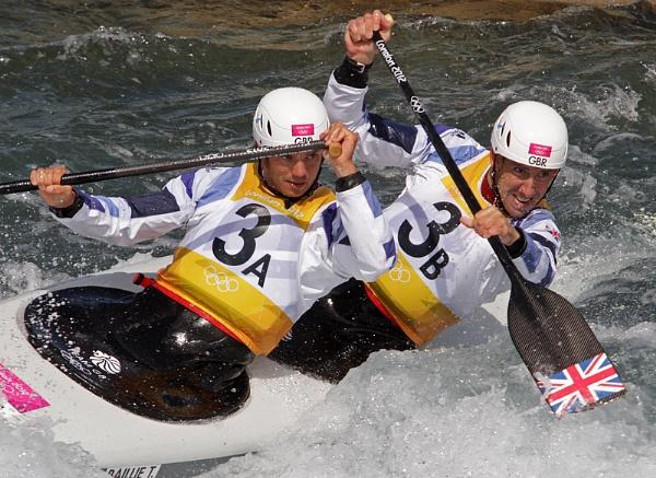Baillie & Stott Olimpic Canoe Slalom (C2) by cambirder