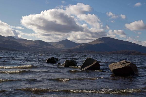 Late evening on Loch Lomond by killiekrankie