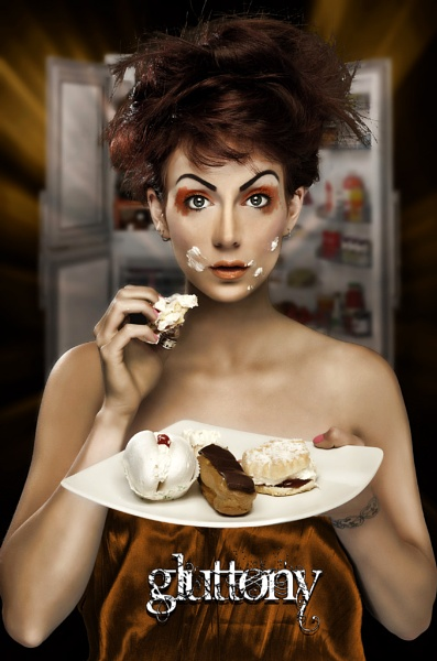 The Seven Deadly Sins - Gluttony... by Baden