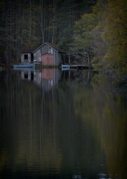 Boathouse by Boleskine