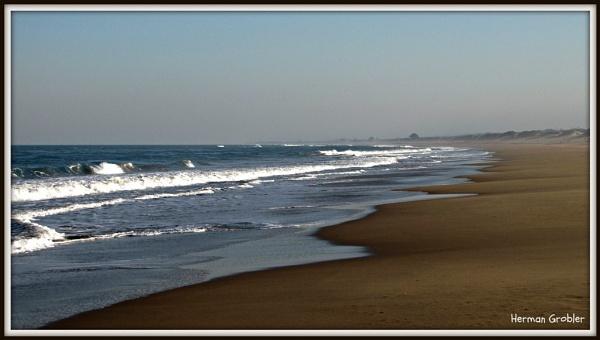 Unspoilt beach by Hermanus