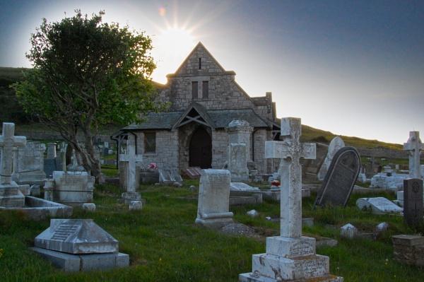 St Tudno church and Grave yard by m60mrj