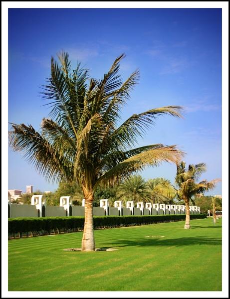 Palm tree Dubai by m60mrj
