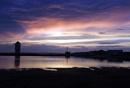 Sunset on Bateman's Tower Brightlingsea