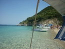 Arriving at Turtle Island In Zante