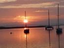 Sunset over Alvor