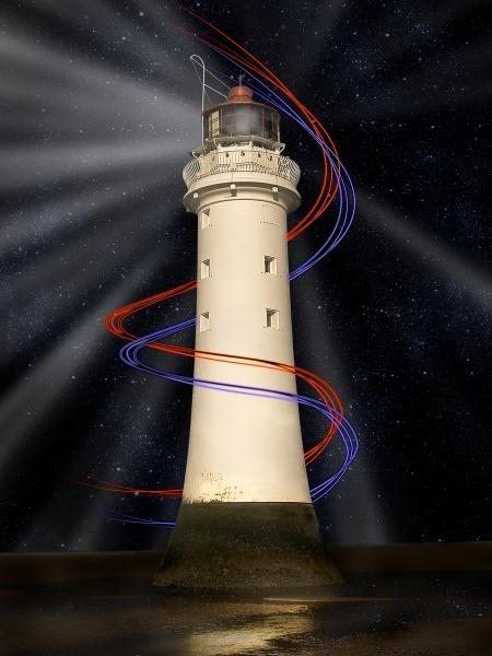 Light rays by surfinsurveyor