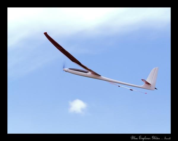 Blue Explorer Sports Glider by teocali