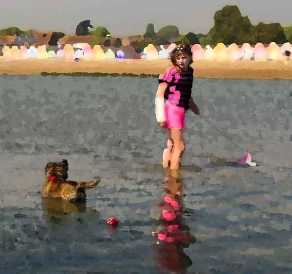 Dog paddle by TomSaetan