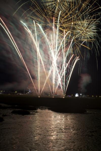 Summer Evening Fireworks