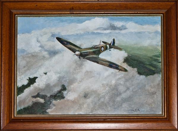 "28-04-12 \""Spitfire.\"" by Jestertheclown"