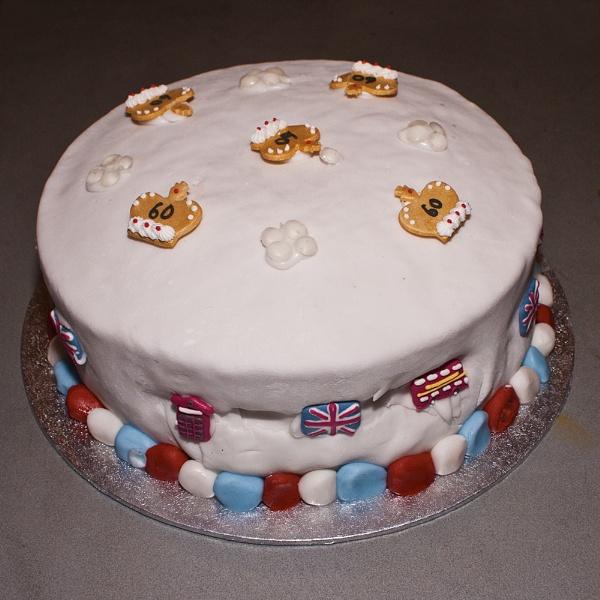 """31-05-12 \""""Jubilee Cake.\"""" by Jestertheclown"""