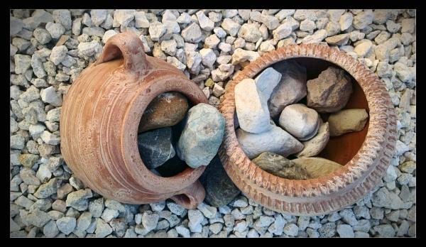 ceramic pots by pokey110