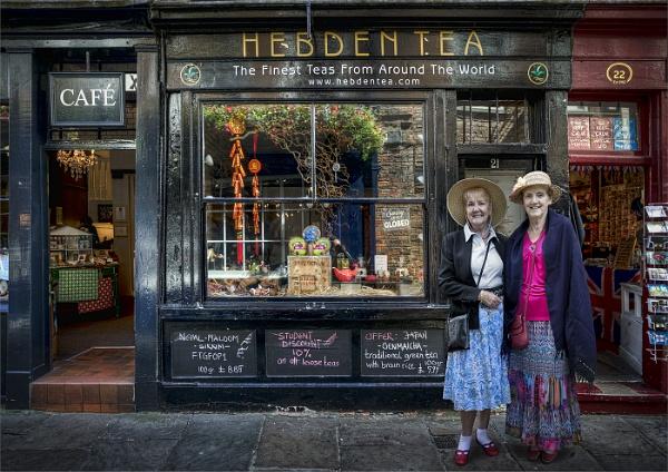 HEBDEN TEA LADIES by GERRYGENTRY