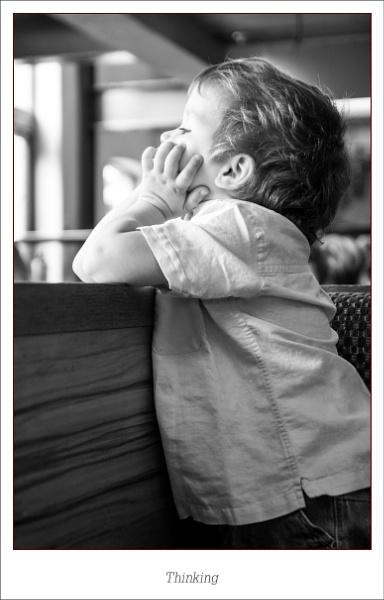 Thinking ... by touchingportraits